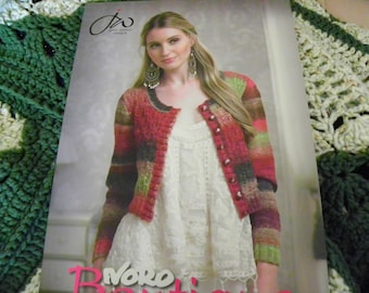 Knitting Pattern Book - Noro Boutique Jenny Watson Designs - 20 Designs - Sweaters, Vests, Cardigans, Tops