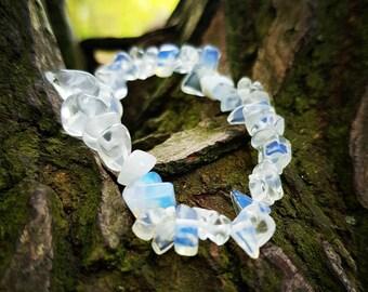 Opalite Crystal Bracelet, Opalite Bracelet, Opalite  Gemstone Bracelet