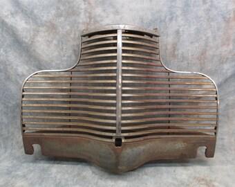 1940 Chevy Chevrolet Grill Emblem Trim Molding Rat Hot Street Rod Vintage Auto