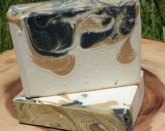 Black Velvet, Triple Butter Luxury Soap, Cold Process Soap