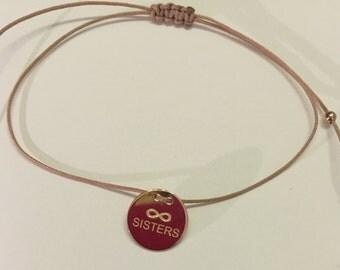 Friends Silver Bracelet