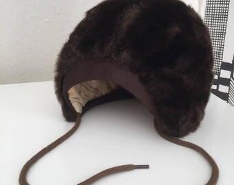 Hat/baby/faux fur/winter hat