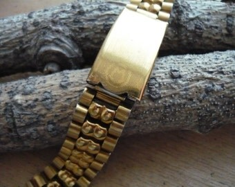 18mm. СССР Vintage Stainless steel Watch Bracelet. Vintage Stainless Steel Bracelet From Soviet Union. Watch strap. Watch band Vostok #З(Z).