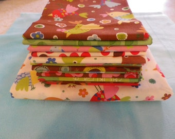 Tweet Tweet Fat Quarter Bundle & Yardage