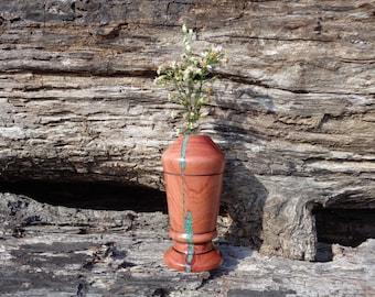 Cedar Weed pot/Bud Vase  #W0490