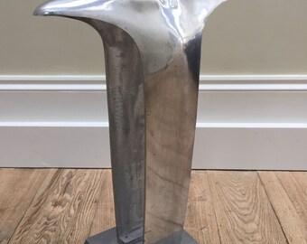 Liberty of London cast aluminium modernist retro shop display torso Mid-century