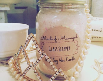 Glass Slipper 100% Soy Candle