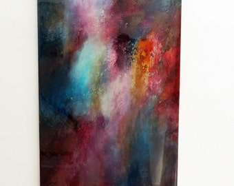 cosmos 2,Original abstract painting, Modern art, Abstract art, Abstract painting, Abstract canvas art, Original painting, resin painting.