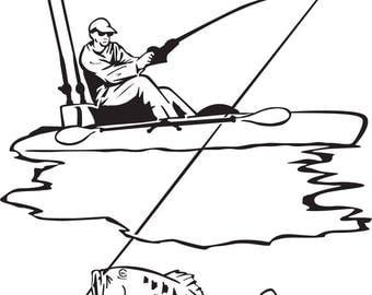 Download Kayak decal   Etsy