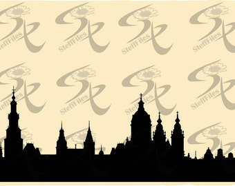 0512_AMSTERDAM World famous cities silhouettes vector,SVG,DXF,ai, png, eps, jpg,Art print home,Download files, Digital, graphical