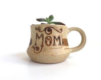 Vintage Pottery Craft USA Mom Mug or Cup