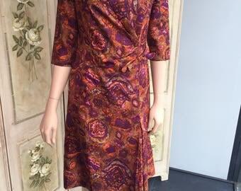 Fabulous Original Vintage 1950s Wiggle Dress. Guide Size 12.