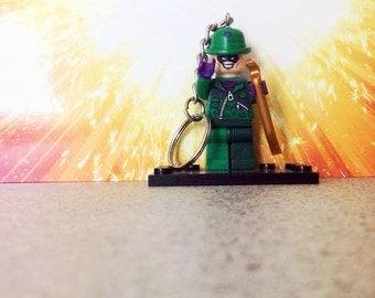 Riddler Lego Inspired Keyring