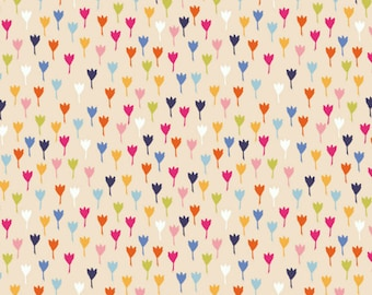 Tiny Floral Print Cotton Quilting and Patchwork Fabric - Fat Quarter