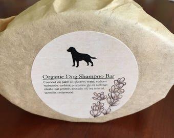 Organic Doggie Shampoo Bar