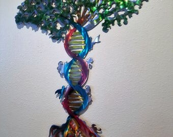 Dna art etsy for Personalized dna art