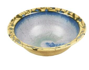 Cereal Bowl effect blue