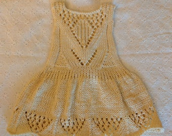 Tulip Summer dress pattern for 3, 6, 9, 12 months,
