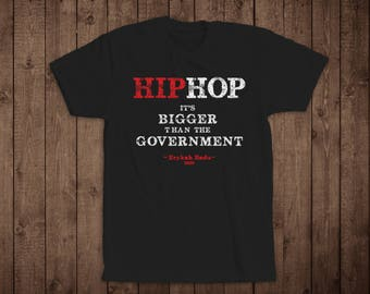 "T-Shirt- Music Quote T-Shirt- ""Hip Hop"", Erykah Badu"