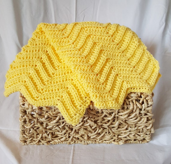 Security Blanket - Honey Bee Yellow