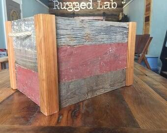 Rustic Reclaimed Crate
