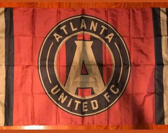Atlanta United FC 3x5 Feet MLS USA Soccer Flag Futbol Supporters Flag