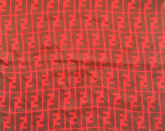 Fendi vintage silk handkerchief.
