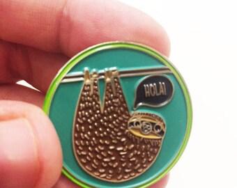 Sloth Pin