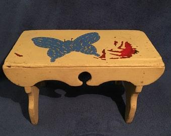Antique children's table