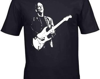 David Gilmour T-Shirt Homage Pink Floyd T-Shirt Mens 100% Unofficial
