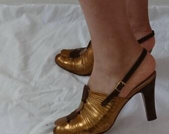 40s style  Renata peep toe shoes size 36
