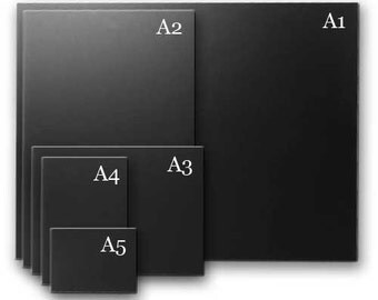 A3 blank chalkboard