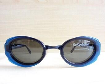 YVES SAINT LAURENT 6064 Y395 vintage sunglasses 80s 90s nos