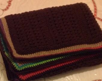 Crochet Throw/Blanket/Stroller  Blanket/Crib Blanket