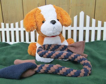 XX-Large Fleece Dog Tug Toy