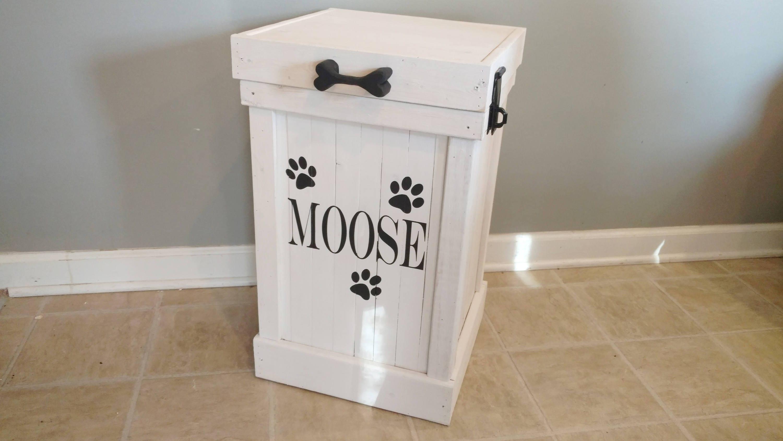 pet food storage container custom dog food container dog. Black Bedroom Furniture Sets. Home Design Ideas