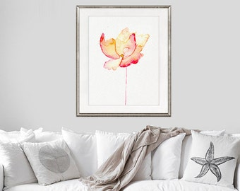 Watercolor Flower Art Print, Watercolor Painting Flower, Gift for her, Gift Idea - 92