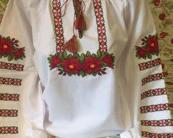 Embroidered blouse, vyshyvanka