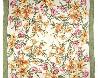 Russian Silk Shawl Fragrance of Spring - #106bb