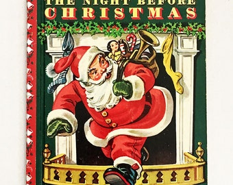 The Night Before Christmas - A Little Golden Book 1949 Edition [N]