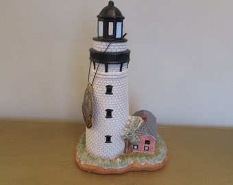 Geo. Z. Lefton American Lighthouse Collection #01012 St. Simons GA Original box with working light