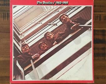 The Beatles 1962-1966 2xLP Gatefold Album with 1 of 2 Inner Sleeves/ SKBO-3403/ Apple/ Capitol Records/ 2xLP