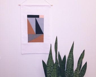 Modern Textile Wall Hanging
