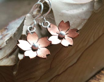 MADE TO ORDER - Cherry Blossom Earrings