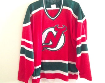 New Jersey Devils Christmas Coloured Vintage Jersey