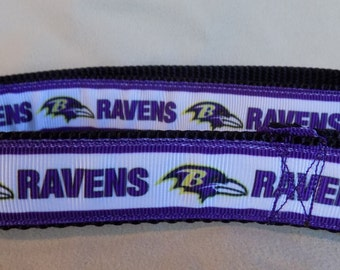 Baltimore Dog Collar, NFL Dog Collar, Baltimore Ravens Dog Collar, Football Dog Collar, Orioles Dog Collar