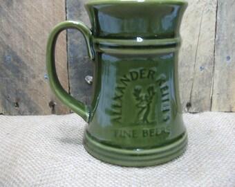 Alexander Keith's beer mug a.