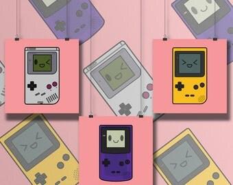 Cutie Console Prints
