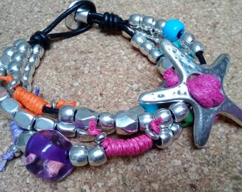 One of 50 style bracelet star, one of 50 style
