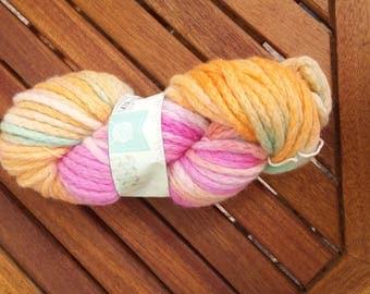 spring - hand dyed yarn - chunky